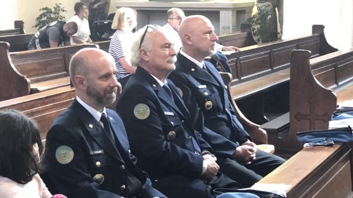 Die Offiziersanwärter des CSLI